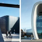Architectural photography of Curve in Slough by Bblur Architecture