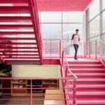 Architectural photography of UoW Library