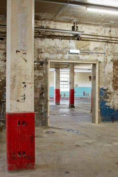 Interior architectural photography by Matt Clayton of Old Truman Brewery, Brick Lane, London
