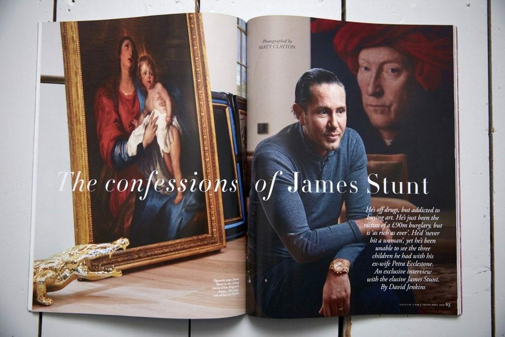 Interior and portrait photography by Matt Clayton in Tatler