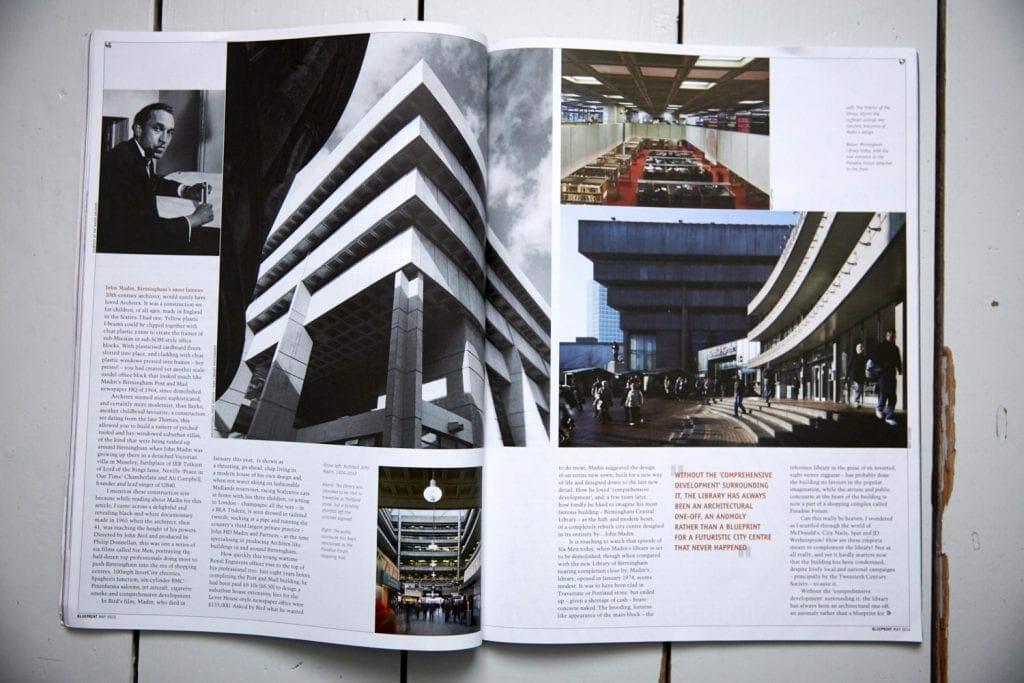 Photos by Matt Clayton in Blueprint Magazine