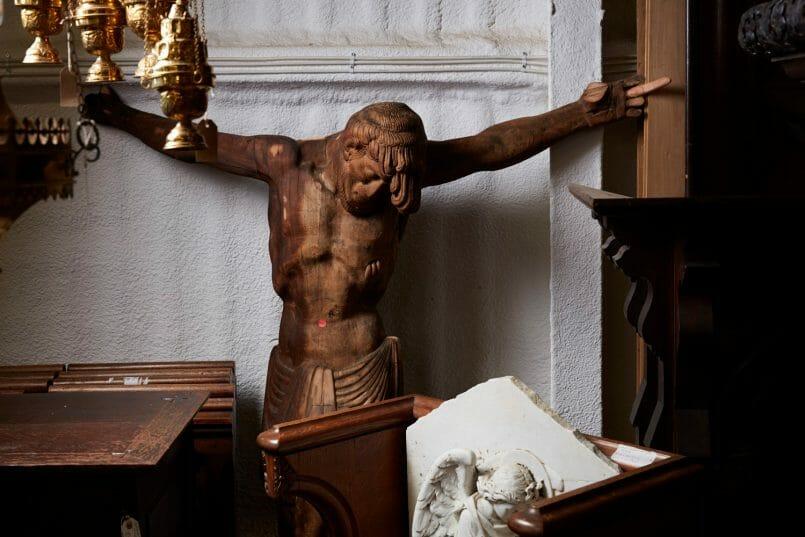 Church Antiques interiors photography by matt clayton