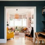 Interior photography or london home sitting room