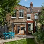 Interior photography or london home rear exterior