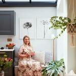 Portrait of Louise, interior designer from interior shoot