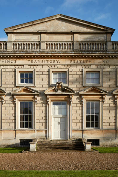 exterior detail Interior photography of Lamport Hall by Matt Clayton