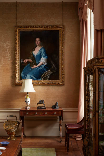 drawing room detail Interior photography of Lamport Hall by Matt Clayton