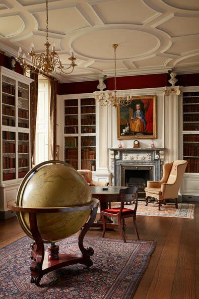 historic library Interior photography of Lamport Hall by Matt Clayton