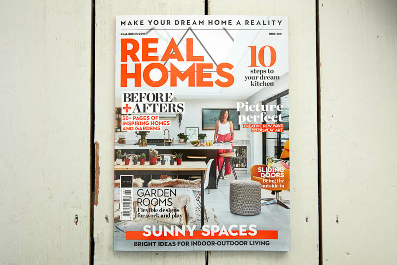 real Homes magazine tearsheet