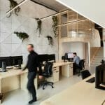 interior photography of modern office space